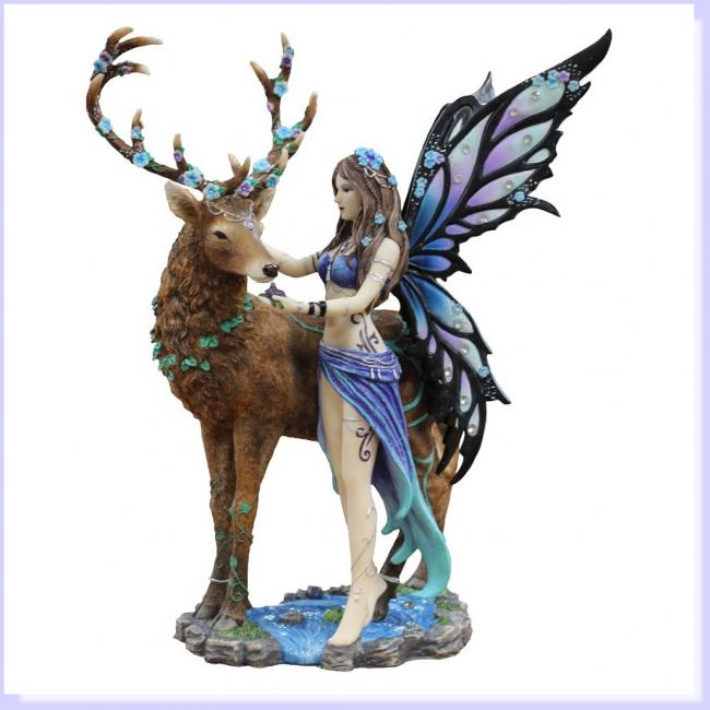 Diantha The Fairy and Deer Premium Figure